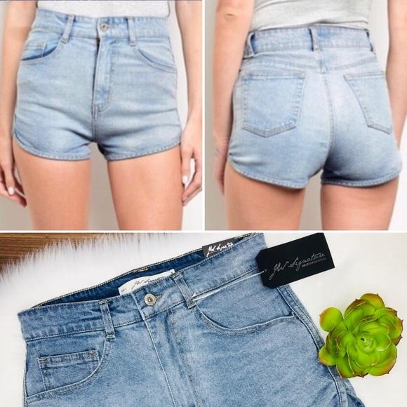 J.W Signature Pants - 🌵 2/$30 J W Signature high waist denim shorts